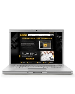 cover image - DEWALT® Plumbing Online Licensing Exam Preparation