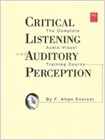 cover image - Critical Listening and Auditory Perception