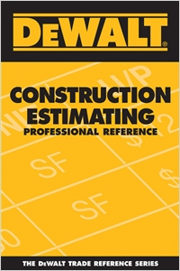 cover image - DEWALT® Construction Estimating Professional Reference
