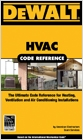 cover image - DEWALT® HVAC Code Reference, Based on the International Mechanical Code