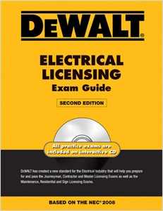 cover image - DEWALT® Electrical Licensing Exam Guide, Updated for the NEC 2008