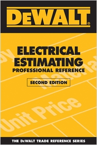 cover image - DEWALT® Electrical Estimating Professional Reference