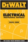 cover image - DEWALT® Electrical Professional Reference - 2008 Code