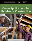 cover image - Green Applications for Residential Construction