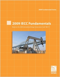 cover image - 2009 International Energy Conservation Code Fundamentals Workbook