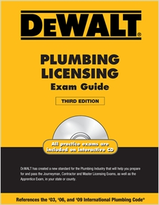 cover image - DEWALT® Plumbing Licensing Exam Guide
