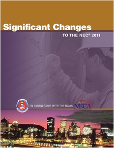 cover image - Significant Changes to the NEC 2011 Edition