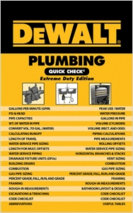cover image - DEWALT® Plumbing Quick Check, Extreme Duty Edition