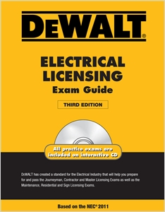 cover image - DEWALT® Electrical Licensing Exam Guide, Based on the NEC® 2011