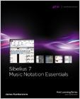 cover image - Sibelius 7 Music Notation Essentials