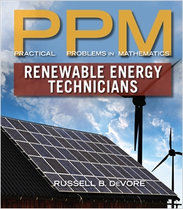 cover image - Practical Problems in Mathematics for Renewable Energy Technicians