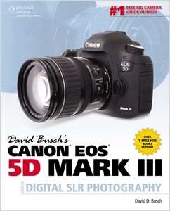 cover image - David Busch's Canon EOS 5D Mark III Guide to Digital SLR Photography