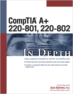 cover image - CompTIA A+ 220-801, 220-802 In Depth