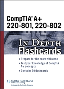 cover image - CompTIA A+ 220-801, 220-802 In Depth Flashcards
