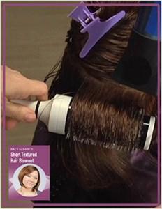 Miladypro Back To Basics Short Textured Hair Blowout
