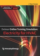 cover image - Delmar Online Training Simulation: Electricity for HVAC Instant Access Code, 2-year