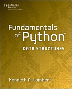 cover image - Fundamentals of Python: Data Structures