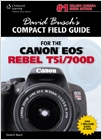 cover image - David Busch's Compact Field Guide for the Canon EOS Rebel T5i/700D