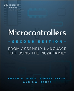 cover image - Microcontrollers, From Assembly Language to C Using the PIC24 Family