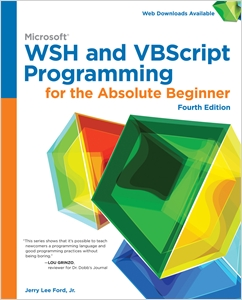 cover image - Microsoft WSH and VBScript Programming for the Absolute Beginner, 4th