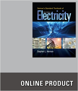 cover image - Delmar Online Training Simulation: Electricity, 4 terms (24 months) Instant Access for Delmar's Standard Textbook of Electricity