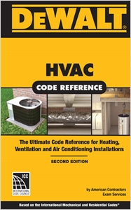 cover image - DEWALT® HVAC Code Reference, Based on the 2015 International Mechanical Code, Spiral bound Version