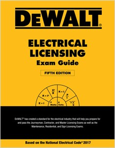 cover image - DEWALT® Electrical Licensing Exam Guide: Based on the NEC 2017