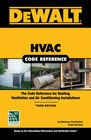 cover image - DEWALT® HVAC Code Reference, Based on the 2018 International Mechanical Code