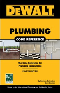 cover image - DEWALT® Plumbing Code Reference, Based on the 2018 International Plumbing and Residential Codes
