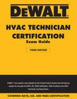 cover image - DEWALT® HVAC Technician Certification Exam Guide – 2018