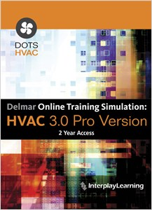 cover image - Delmar Online Training Simulation: HVAC 4.0 Pro Version, 4 terms (24 months) Printed Access Card