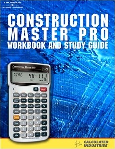 cover image - Construction Master® Pro, Workbook and Study Guide