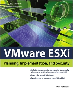 cover image - VMware ESXi: Planning, Implementation, and Security