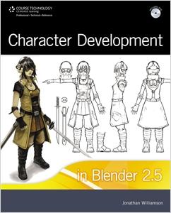 cover image - Character Development in Blender 2.5