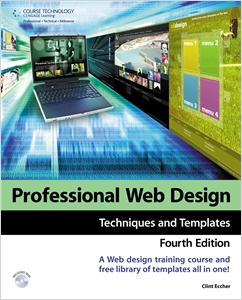 cover image - Professional Web Design, Techniques and Templates
