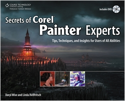 cover image - Secrets of Corel Painter Experts: Tips, Techniques, and Insights for Users of All Abilities