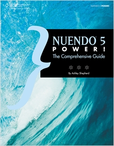 cover image - Nuendo 5 Power!, The Comprehensive Guide