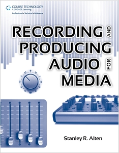 cover image - Recording and Producing Audio for Media