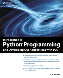 cover image - Introduction to Python Programming and Developing GUI Applications with PyQT