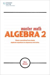 cover image - Master Math, Algebra 2