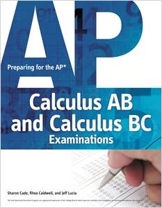 cover image - Preparing for the AP Calculus AB and Calculus BC Examinations