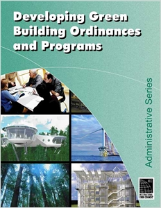 cover image - Developing Local Green Building Ordinances and Programs