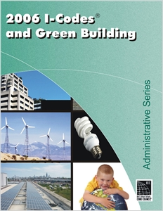 cover image - 2006 I-Codes and Green Building