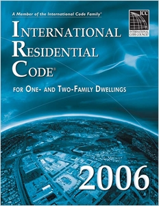 cover image - 2006 International Residential Code