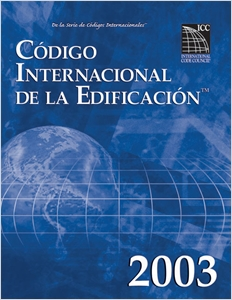 cover image - 2003 International Building Code - Spanish Edition
