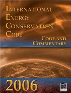cover image - 2006 International Energy Conservation Code: Code & Commentary