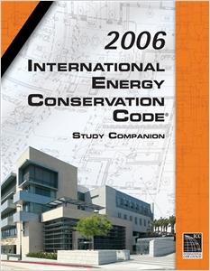 cover image - 2006 IECC Study Companion