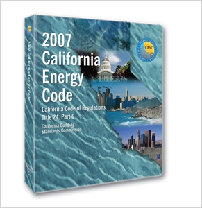 cover image - 2007 California Energy Code, Title 24 Part 6