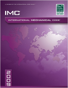 cover image - 2009 International Mechanical Code, Softcover Version