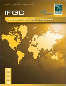 cover image - 2009 International Fuel Gas Code, Softcover Version